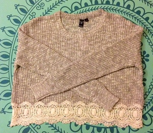 May Favorites Sweater