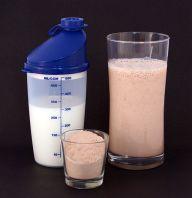 Protein Shake by Sandstein