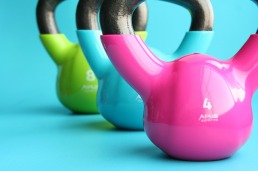 Kettelbells [My 5 Home Gym Essentials via ShyneandInspire.com]