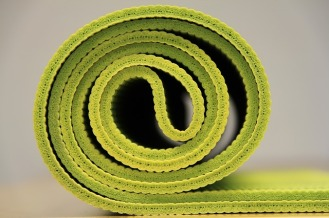 Yoga Mat[My 5 Home Gym Essentials via ShyneandInspire.com]