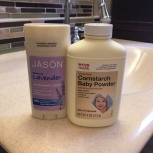 Natural Deodorant and Talc-free Baby Powder via ShyneandInspire.com